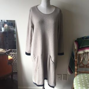Simply couture angora lagenlook sweater dress L